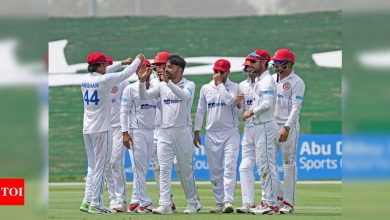 2nd Test: Rashid's 11 wickets help Afghanistan level series against Zimbabwe | Cricket News - Times of India