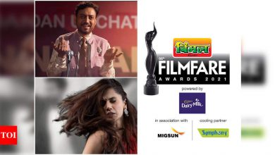 66th Vimal Elaichi Filmfare Awards 2021: Complete Winners' List - Times of India