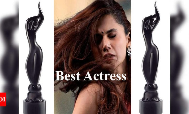 66th Vimal Elaichi Filmfare Awards 2021: Taapsee Pannu wins the best actress for 'Thappad' - Times of India