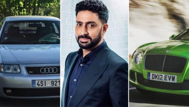 From Bentley Continental GT & Audi 8L: Take A Look At Abhishek Bachchan