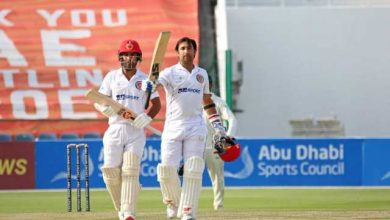 Afghanistan vs Zimbabwe: Skipper Asghar Afghan's maiden ton puts his team on top after Day 1 of second Test - Firstcricket News, Firstpost
