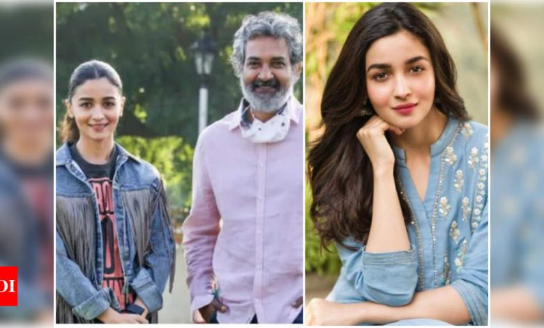 Alia Bhatt's first look as Sita from SS Rajamouli's 'RRR' to be unveiled on her birthday - Times of India