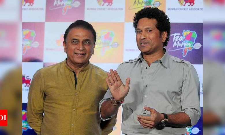 Always tried to be like Sunil Gavaskar, that has never changed: Sachin Tendulkar | Cricket News - Times of India