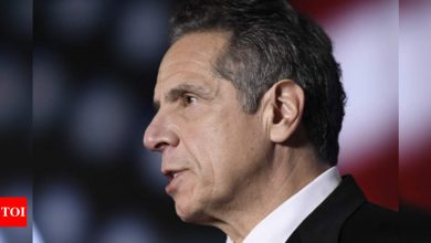 Andrew Cuomo: Calls for New York governor Andrew Cuomo's resignation mount as 3rd accuser emerges | World News - Times of India