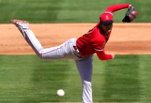 Angels' Shohei Ohtani hits 100 mph in spring outing