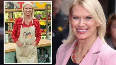 Anneka Rice wasn't allowed to taste her cake mix in Bake Off tent 'Had to be disciplined'