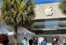 Apple has reopened all of its US retail stores for the first time in nearly a year