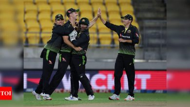 Australia beat New Zealand to force T20I series decider | Cricket News - Times of India