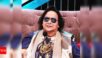 Bappi Lahiri tests positive for COVID-19; the singer has been admitted to the hospital - Times of India