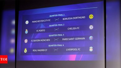 Bayern Munich to face PSG, Real Madrid vs Liverpool in Champions League last eight   Football News - Times of India