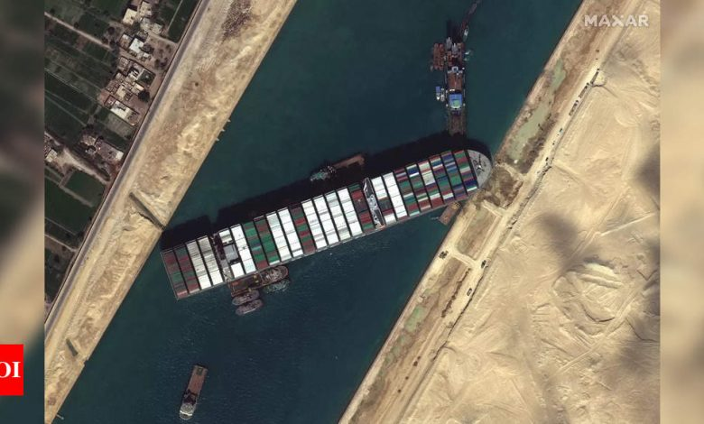 Beleaguered Syria suffers also due to Suez Canal closure - Times of India