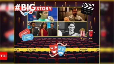 #BigStory! While Bollywood urges the audience to return to theatres, is Covid still playing spoilsport? - Times of India