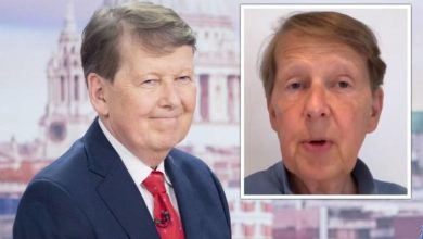 Bill Turnbull seen in new video as he gives followers important prostate cancer message
