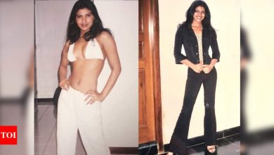 Bindis and Bikinis: Priyanka Chopra's throwback picture from her modelling days is pure gold! - Times of India