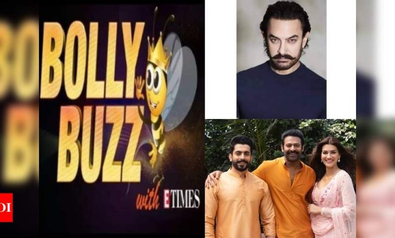 Bolly Buzz: Aamir Khan tests positive for COVID-19; Kriti Sanon opens up about 'Adipurush' - Times of India ►
