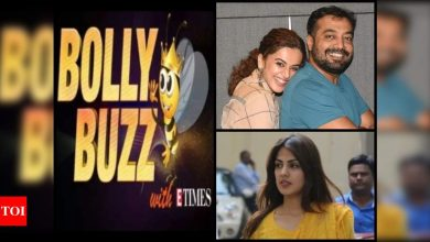 Bolly Buzz: Kangana Ranaut calls Taapsee Pannu 'tax chor'; Rhea Chakraborty's name mentioned in NCB chargesheet - Times of India ►