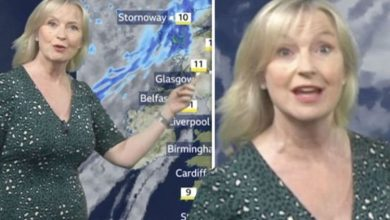 Carol Kirkwood: BBC star brands Easter weather 'typical' as she details Arctic 'surge'