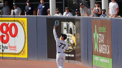 Clint Frazier's defensive confidence is at all-time high