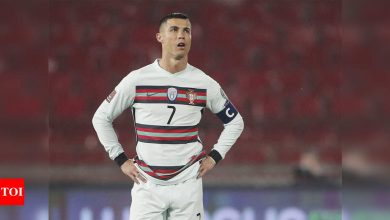 Cristiano Ronaldo will always be Portugal captain, says coach | Football News - Times of India