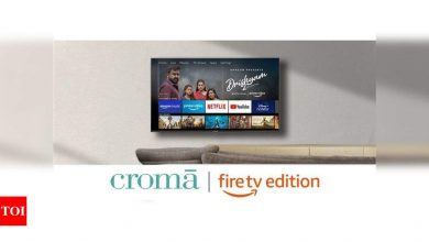 Croma launches Fire TV Edition Smart LED TVs at Rs 17,999 onwards - Times of India
