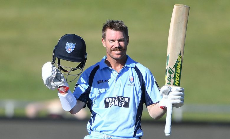 David Warner hundred secures win as New South Wales survive wobble