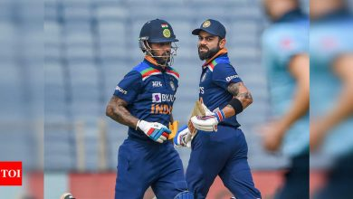 Dhawan's body language was great when he wasn't playing: Kohli | Cricket News - Times of India