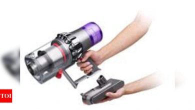 Dyson V11 Absolute Pro cord-free vacuum cleaner launched with 2 hours battery life - Times of India