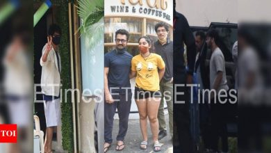 ETimes Paparazzi Diaries: Salman Khan spotted at a studio, Aamir Khan snapped with daughter Ira Khan at a café, Shahid Kapoor steps out for a test drive - Times of India