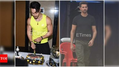 ETimes Papparazi Diaries: Tiger Shroff celebrates his birthday with media; Hrithik Roshan shoots for an ad in the city - Times of India