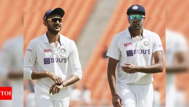 EXCLUSIVE: R Ashwin outstanding, Axar Patel made Test cricket look easy, says Ryan Sidebottom | Cricket News - Times of India