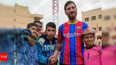 Egyptian Messi lookalike thrills soccer-loving orphans   Football News - Times of India