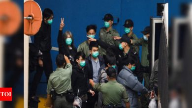 Eight activists jailed in Shenzhen to return to Hong Kong - Times of India