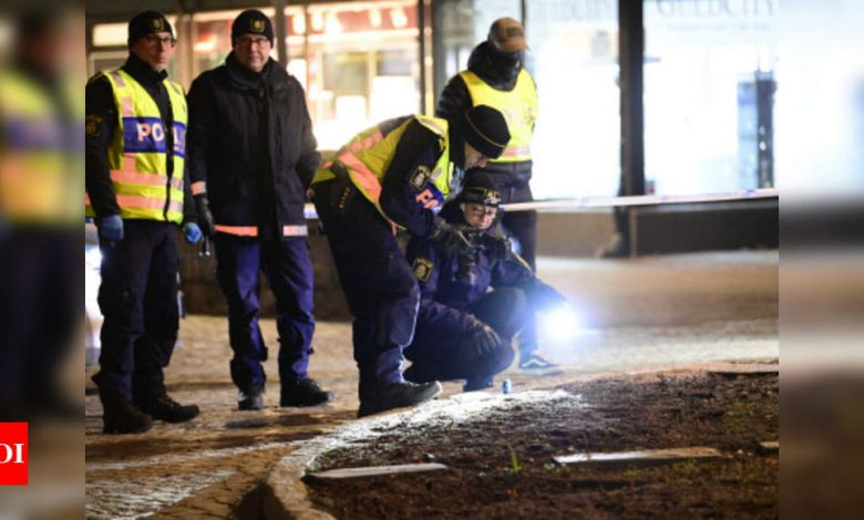 Eight injured in 'suspected terrorist' stabbings in Sweden - Times of India