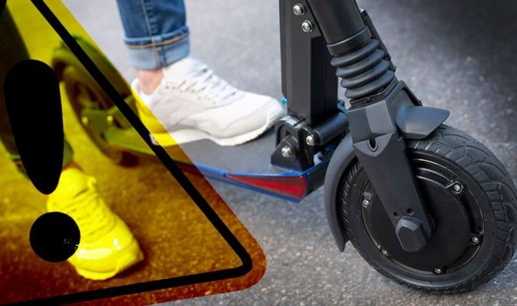 Electric Scooter warning: New map shows where it's legal and illegal to ride e-scooters