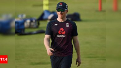 England captain Eoin Morgan out of India ODIs with hand injury | Cricket News - Times of India