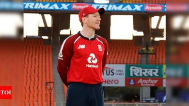 Eoin Morgan becomes first England cricketer to play 100 T20Is | Cricket News - Times of India