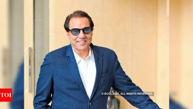 """Exclusive! Dharmendra on his COVID Test: """"Thank God I've tested negative"""" - Times of India"""