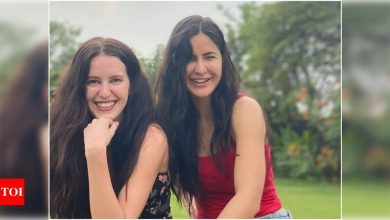 Exclusive Interview! Isabelle Kaif: I was definitely influenced by sister Katrina's journey - Times of India