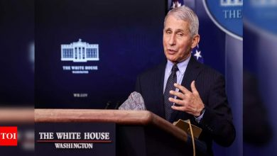 Fauci says US must stick to two-shot strategy for Pfizer, Moderna Covid-19 vaccines: Paper - Times of India