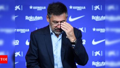 Former Barcelona chief Bartomeu released day after arrest   Football News - Times of India