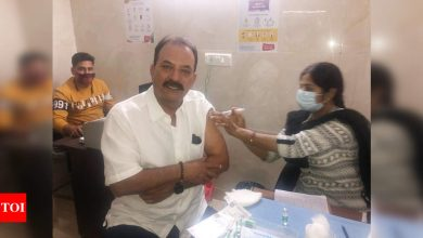 Former Indian cricketer Madan Lal gets first dose of COVID-19 vaccine | Cricket News - Times of India
