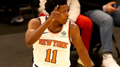 Frank Ntilikina looks like a different player with Knicks exile behind him