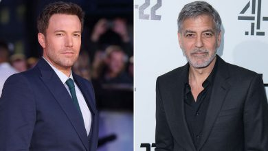 George Clooney spotted directing Ben Affleck in new film