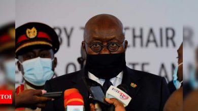 Ghana president receives world's first free Covax jab - Times of India