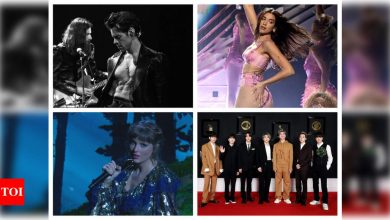 Grammys 2021: Harry Styles, Dua Lipa, Taylor Swift, BTS, Megan Thee Stallion - Cardi B and other big performances from the show - Times of India