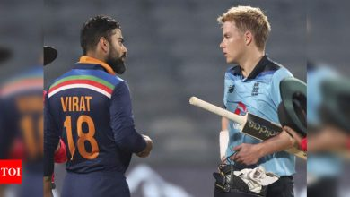 'Great series to be a part of': Sam Curran congratulates Team India on winning ODI series | Cricket News - Times of India