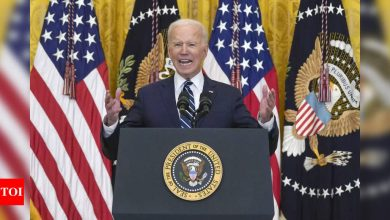 Hard to meet May 1 deadline to withdraw US troops from Afghanistan: Biden - Times of India