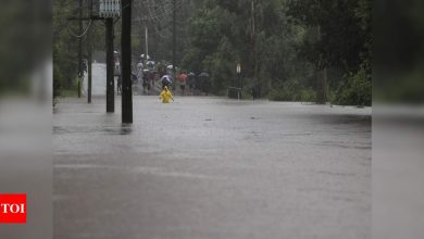 Heavy rain forces parts of Sydney to evacuate, downpour to continue - Times of India