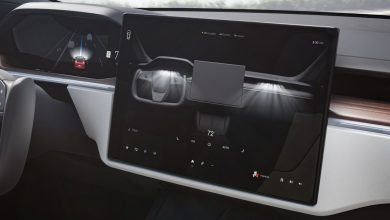 Here's how Tesla's new touchscreen drive selector works