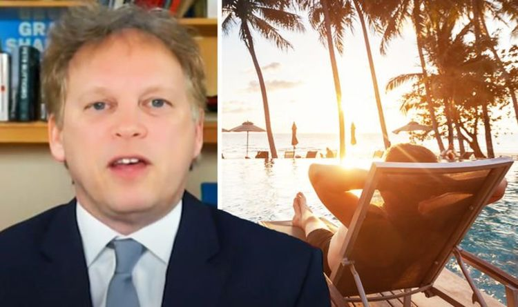Holiday warning: Grant Shapps claims April 12 will give